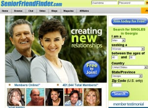 Senior Friendfinder Review